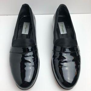 Mezclan Patent Tuxedo Loafers Size 11.5